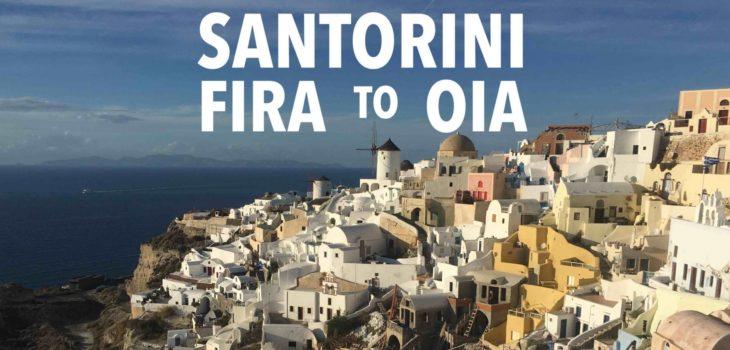 Santorinin: Hike from Fira to Oia