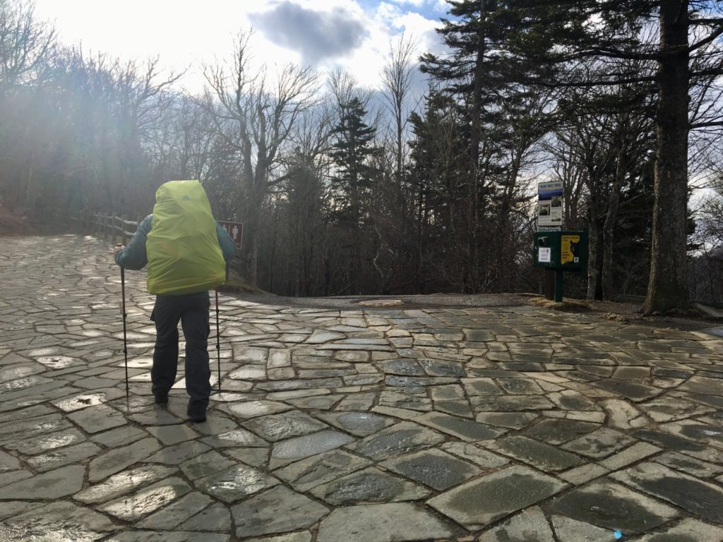Leaving Newfound Gap, going solo