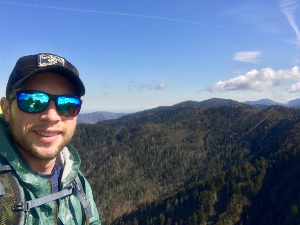 A Smoky Mountain selfie