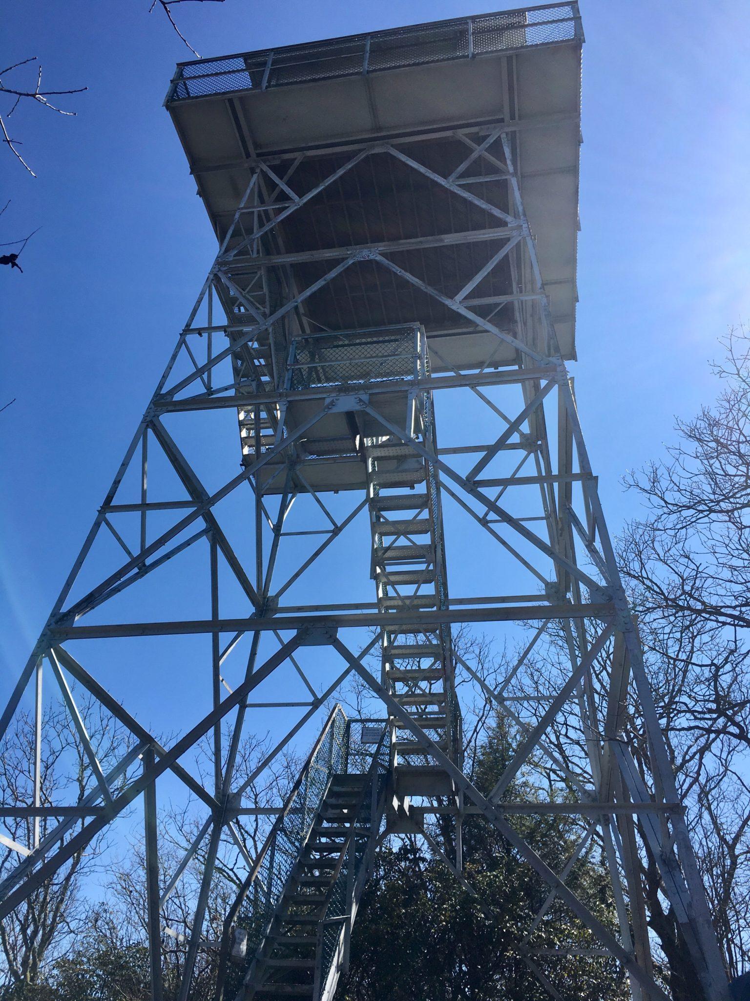 Albert Mountain firetower