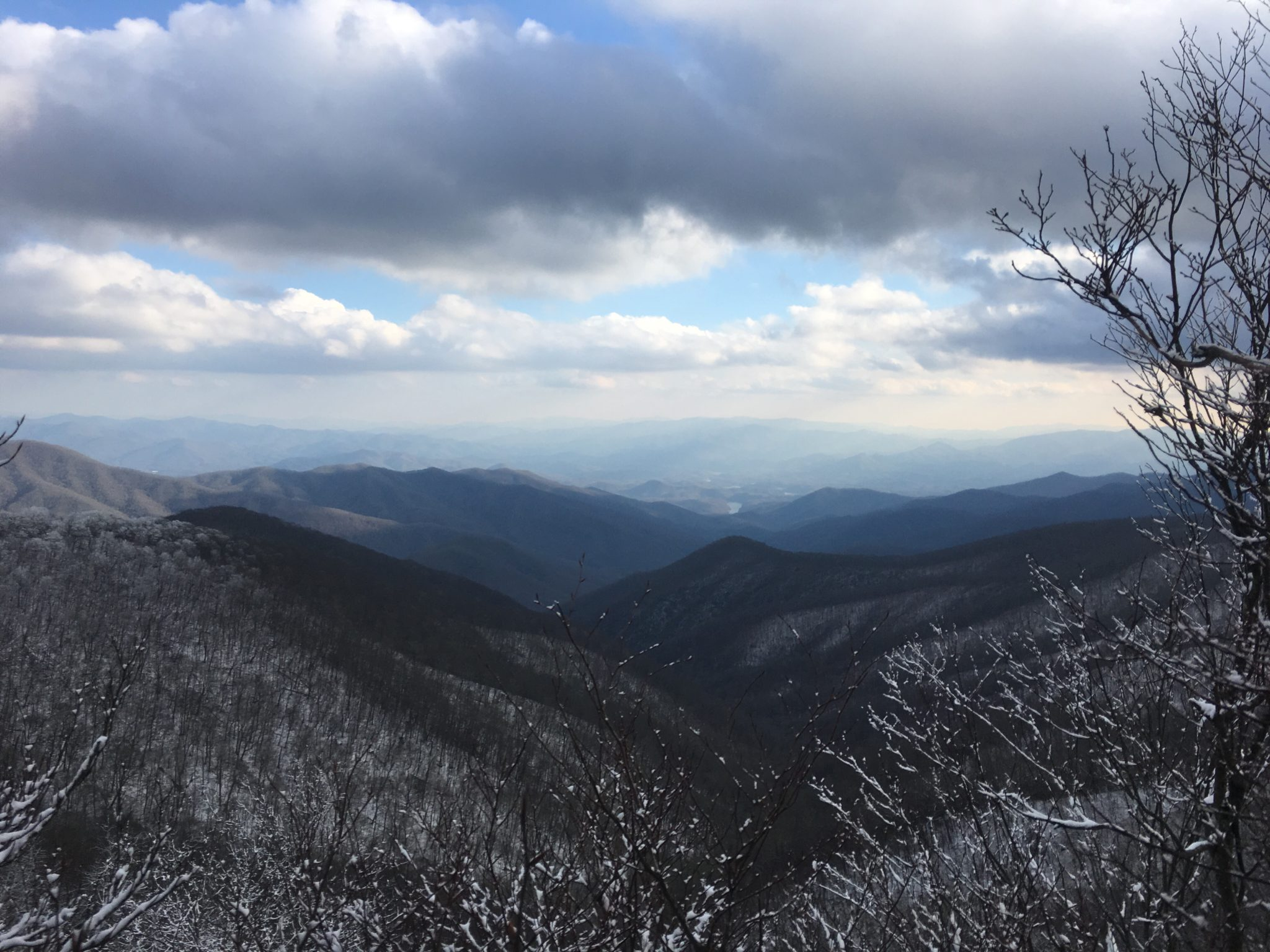 Finally, a decent view of the Smokies
