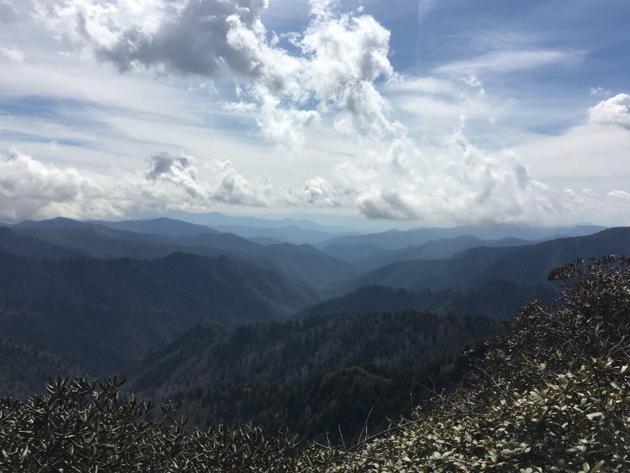 Beautiful views of the Smoky Mountains