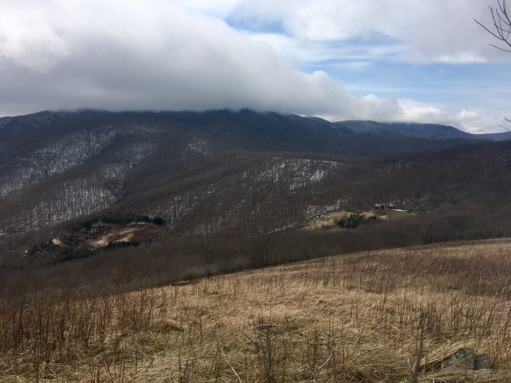 The sky cleared after my descent from Roan Mountain