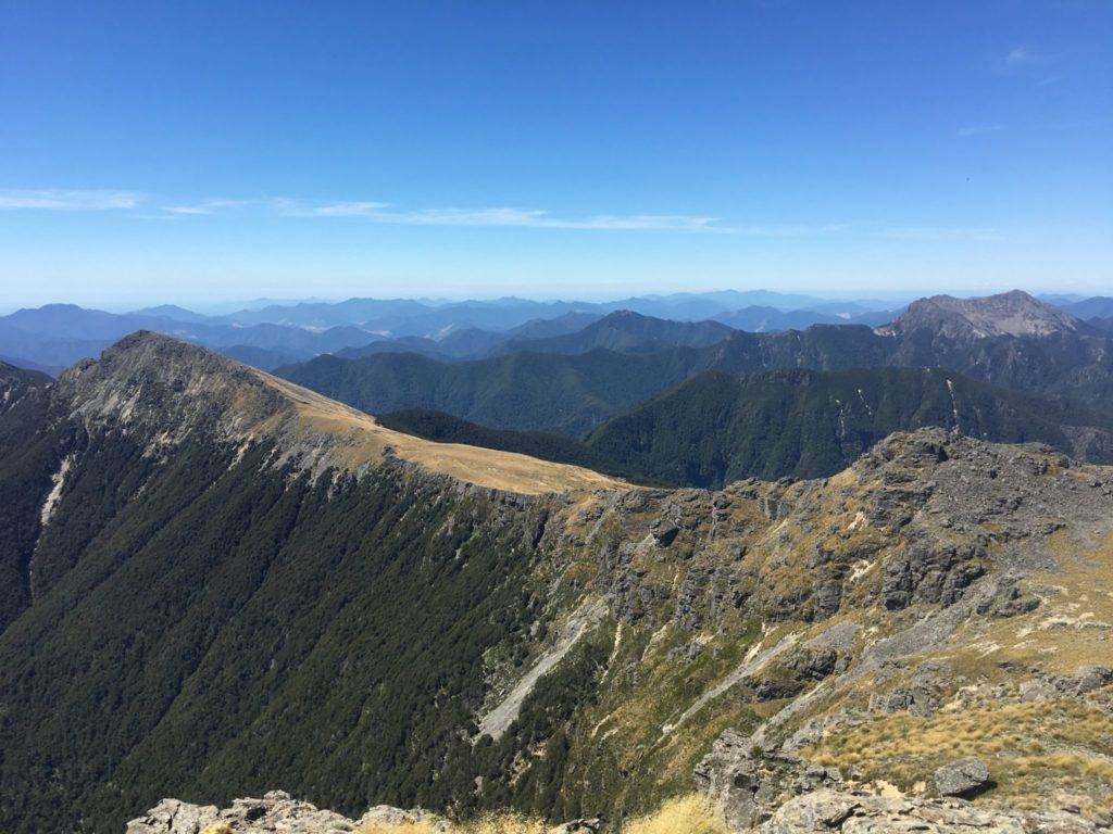 Epic ridges and peaks as far as the eye can see