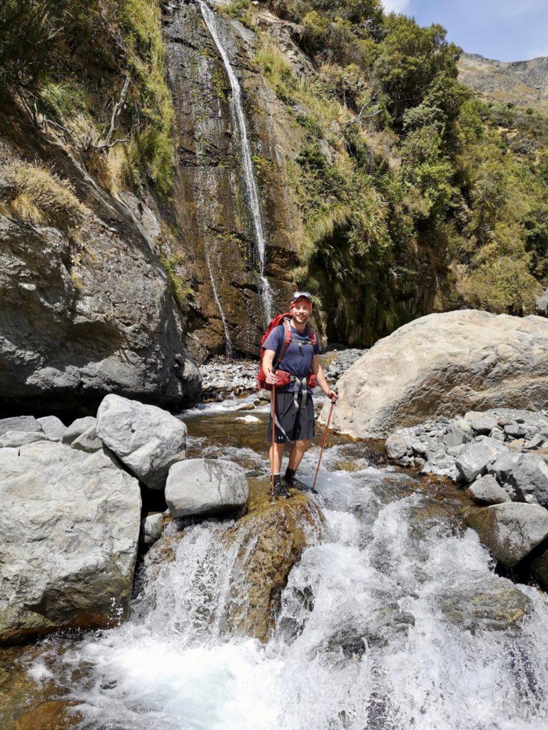 Waterfalls and river crossings