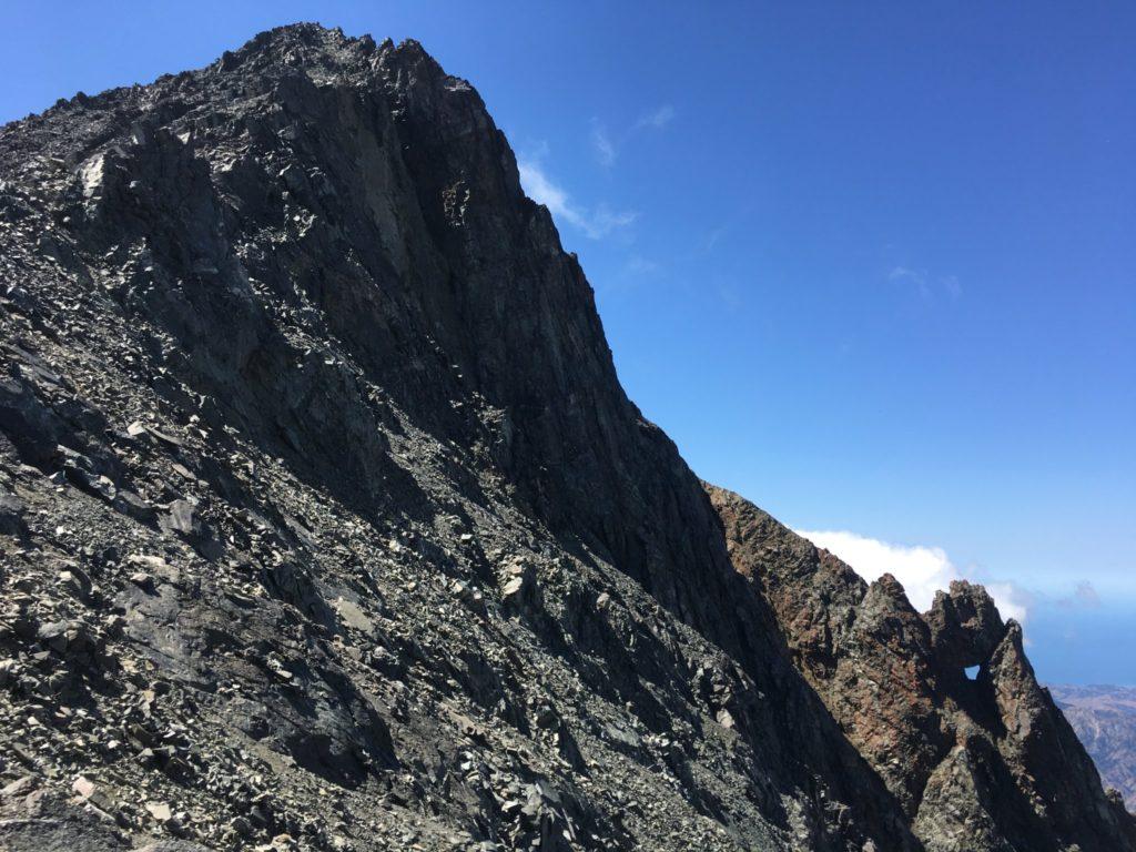 The summit looms ahead
