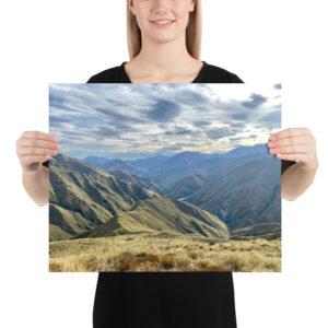 Motatapu Track, Te Araroa Print