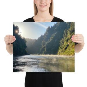 Whanganui River, Te Araroa Print