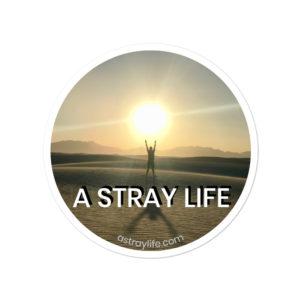 A Stray Life Sticker