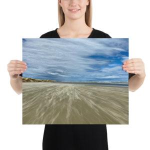 Oreti Beach, Te Araroa Print
