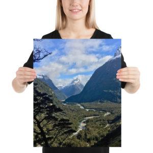 Mitre Peak, Milford Sound Print