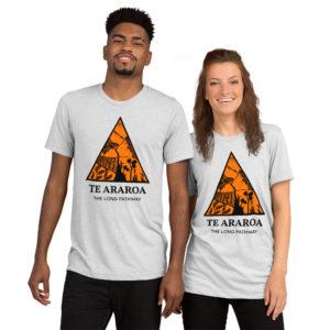 TA Orange Triangle Tee